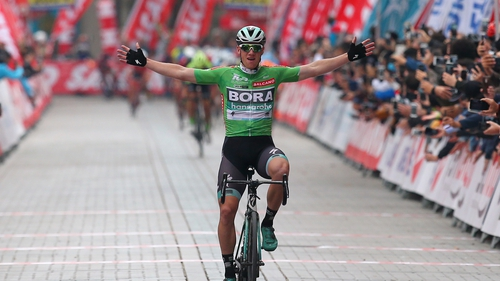 Sam Bennett enjoyed many good days with Bora-Hansgrohe