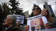Protests over the disappearance of Jamal Khashoggi