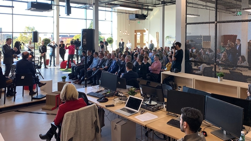Davide Dattoli, CEO and founder of Talent Garden, tells Brian Finn the Talent Garden initiative works by putting all the best talents in digital together in the same space