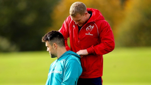 Keith Earls and Conor Murray