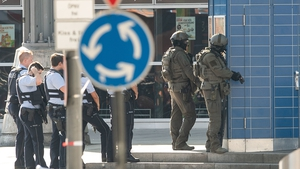 Reported that shots fired at Cologne's main train station