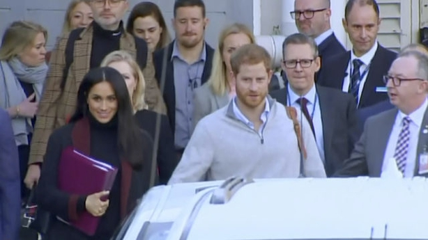 Prince Harry and the Duchess of Sussex arrive in Sydney (Australian Pool via APPA)