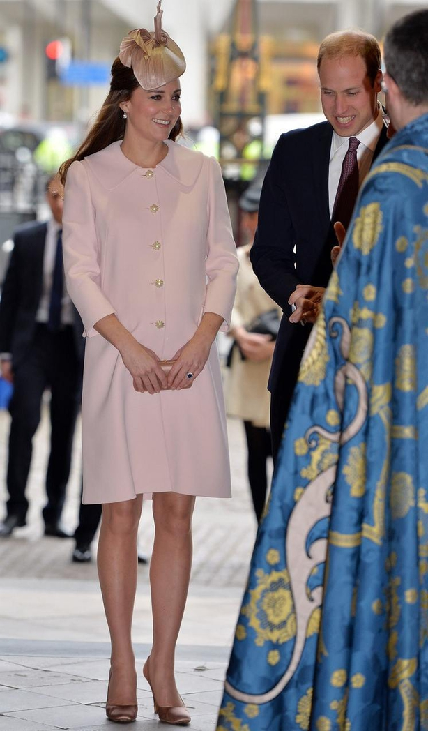 The Duke and Duchess of Cambridge attend the Commonwealth Observance at Westminster Abbey, London (John StillwellPA)