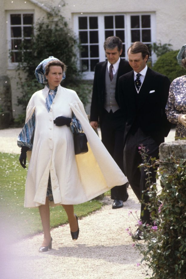 Princess Anne, pregnant her second child in 1981 (PA)