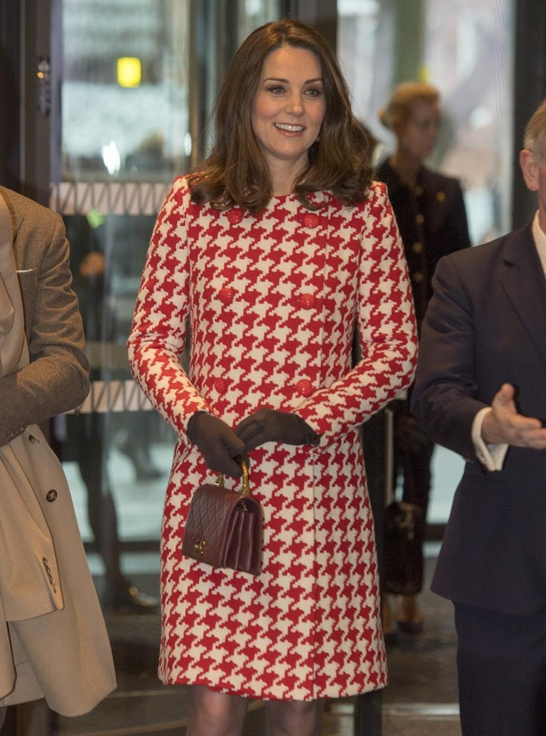 The Duchess of Cambridge visits the Karolinska Institute in Stockholm (Arthur Edwards/PA)