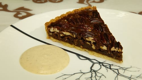 Neven Maguire's Pecan Pie with Molasses