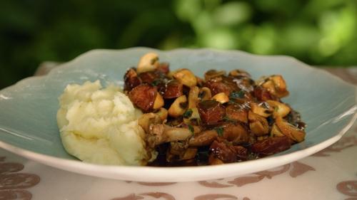 Rabbit Stew with Chorizo