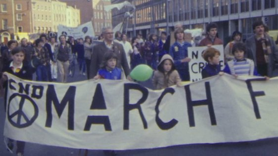 'March For Survival' CND protest, Dublin (1983)