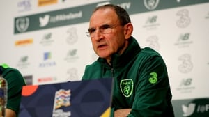 Martin O'Neill said that Ireland would try to play on 'the front foot' in their Nations League encounter with Wales on Tuesday