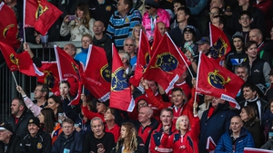 Munster fans were out in force
