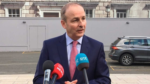 Micheál Martin says he will not agree to new conditions or deadlines for the talks