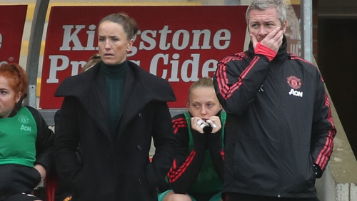 Casey Stoney will bring her Manchester United women's team on tour with the men's side