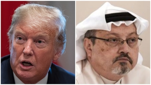 Donald Trump earlier said he found the explanation for Jamal Khashoggi's death 'credible'
