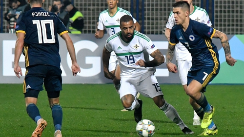 Northern Ireland fell to a third straight defeat in the Nations League