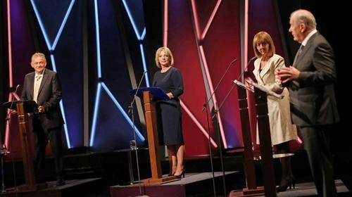 Peter Casey, Liadh Ní Riada, Joan Freeman and Gavin Duffy took part in the debate