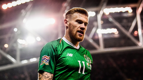 James McClean will be tasked with driving Ireland forward