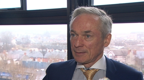 Richard Bruton was speaking at a gathering of Fine Gael TDs, Senators, MEPs and general election candidates in Dublin