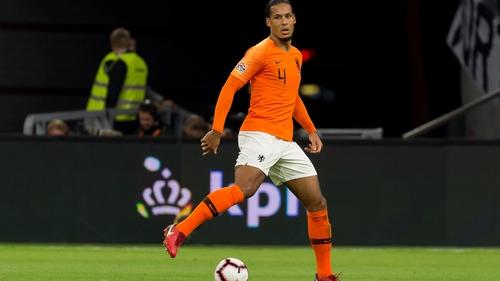 Virgil van Dijk has been playing with broken ribs, according to Ronald Koeman