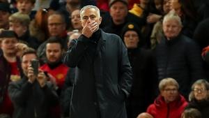 Jose Mourinho could face a touchline ban