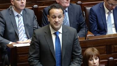 An Taoiseach Leo Varadkar sa Dáil