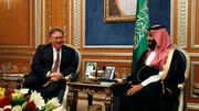 US Secretary of State Mike Pompeo meets Saudi Crown Prince Mohammed bin Salman in Riyadh