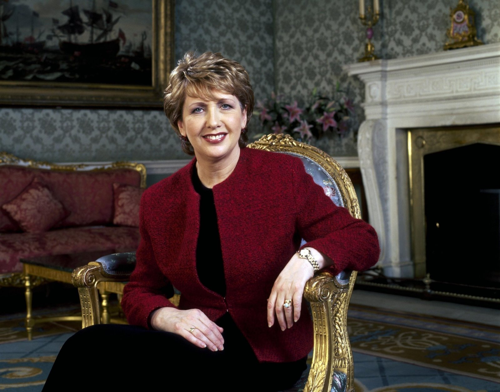 Image - Mary McAleese, President from 1997 - 2011