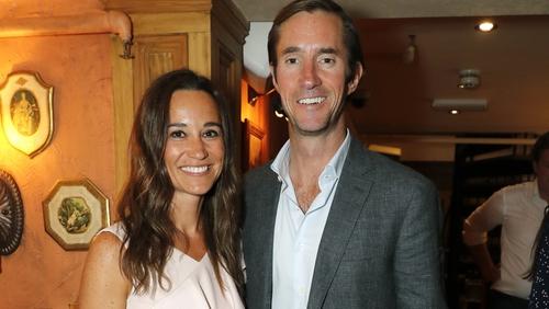 Pippa Middleton and James Matthew