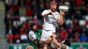 Pete Browne in action for Ulster