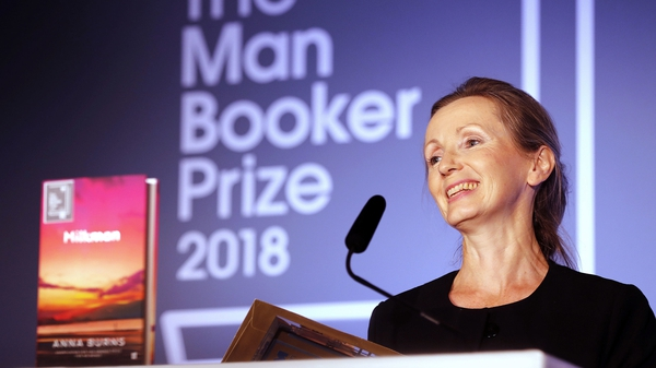 Anna Burns won the major literary prize with her fourth novel