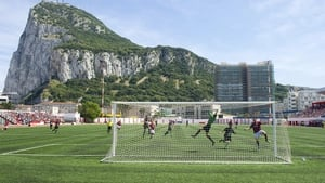 Gibraltar play at the 2,000 capacity Victoria Stadium