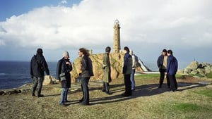 Erasmus students visiting the Cabo Vilano lighthouse in Galicia. Galicia. Photo: Xulio Villarino/ Cover/Getty Images