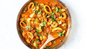 Donal's Chorizo, Fennel & Tomato Fish Stew