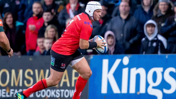 Rory Best made just his second appearance of the season in last weekend's victory over Leicester Tigers