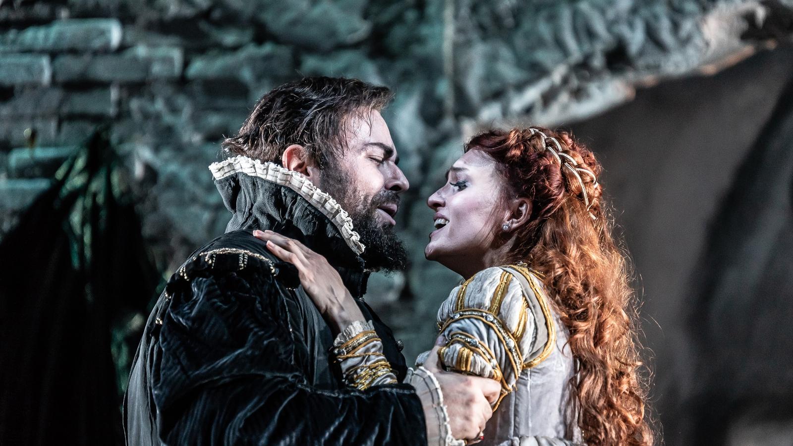 Image - Alessandro Luciano a Ekaterina Bakanova in Il bravo by Mercadante at Wexford Opera Festival 2018
