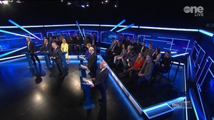 The candidates faced questions on Travellers, expenses and how long they would serve (Image: Virgin Media Television)