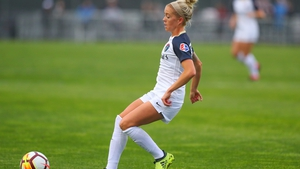 Denise O'Sullivan in action for North Carolina Courage