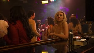 Maggie Gyllenhaal as Candy in a scene from The Deuce. Photo: HBO
