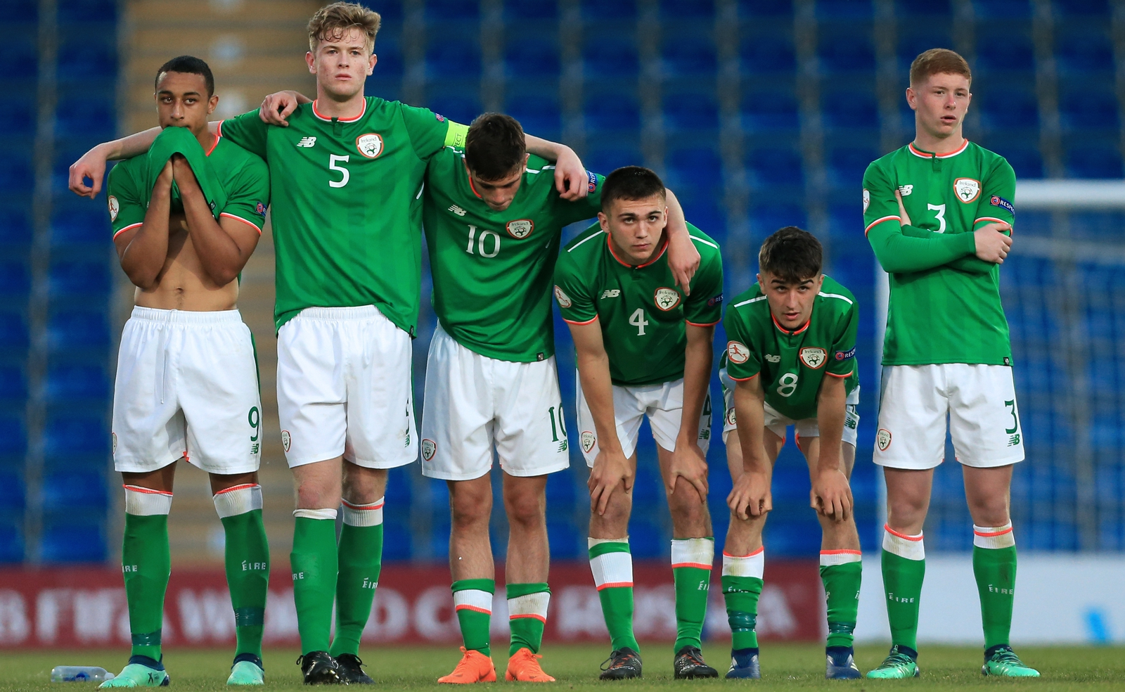 Image - Colin O'Brien's U17s lost a controversial penalty shootout in European quarter-final