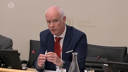 Dr Graham Love was speaking at the Public Accounts Committee