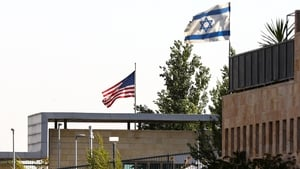 US embassy in Jerusalem was opened on 14 May 2018