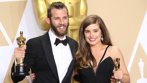 Rachel Shenton and Chris Overton -