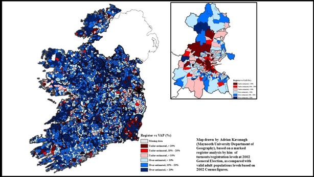 Map Of Ireland As Gaeilge.Getting The Vote Out What Influences Voter Turnout