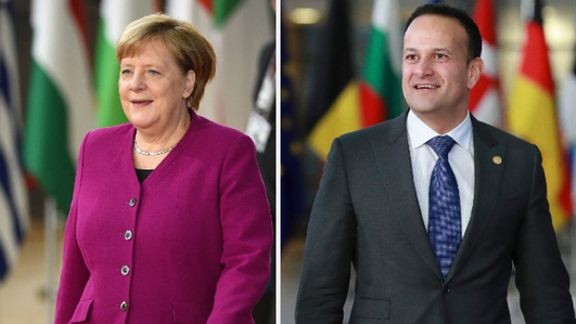 Taoiseach has 'conversations' with the German Chancellor