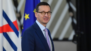 Prime Minister of Poland, Mateusz Morawiecki, at the European Council in Brussels