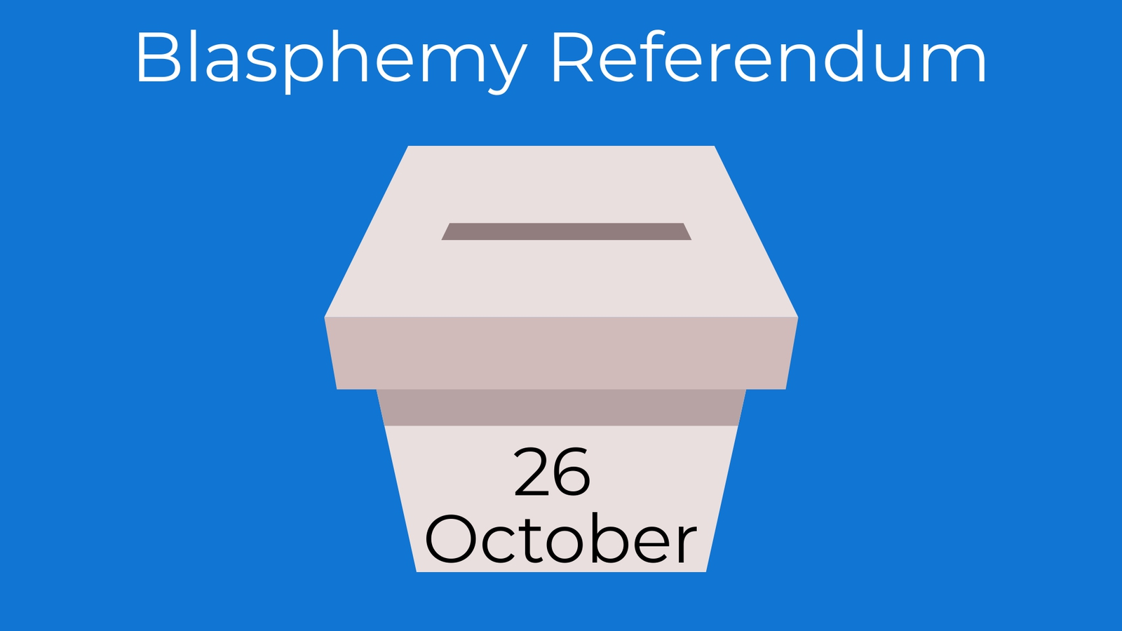 a guide to the referendum on blasphemy