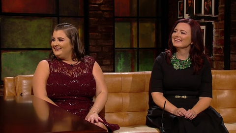 Shauntelle and Leona Tynan | The Late Late Show