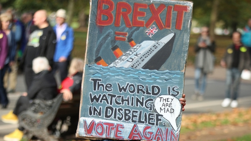 People's Vote march: Eastbourne councillor joins 700000 in London Brexit protest