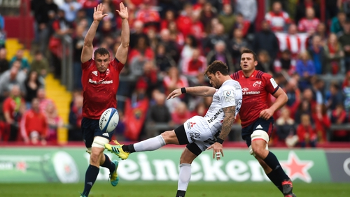Cipriani in action against Munster in 2018