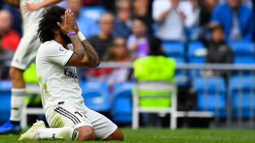 Real Madrid break record for longest goalless run