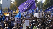 Organisers say up to 670,000 people attended today's march